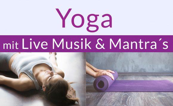 Yoga mit Live Musik & Mantra am 11. Oktober 2019 mit Judith Erb